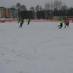 Zimski trening šmarskih nogometašev in pogovor z Ibrahimom Neskićem (video)