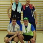 Po 4. turnirju trojk v Dobju