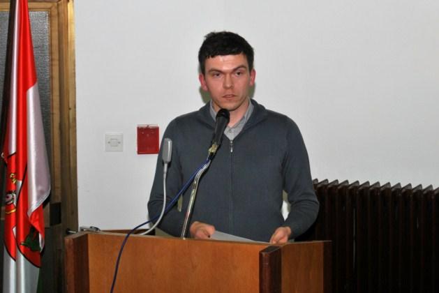 Urednik in predsednik Literarnega društva Šentjur, Bogdan Rahten