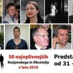 Predstavitve najvplivnejših KiO 2010: od 31. do 40. mesta