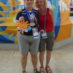 Polona Mikolič osvojila zlato na specialni olimpijadi v Grčiji