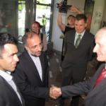 Predsednik DZ Ljubo Germič in iranski veleposlanik Aghaeipour obiskala MOS