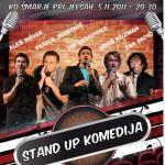 Stand up Komedija v Rogaški in Šmarju – podarjamo vstopnice!