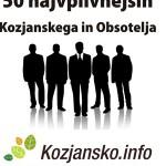 Napovedujemo: 50 najvplivnejših Kozjanskega in Obsotelja v letu 2014