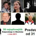 50 najvplivnejših KiO 2011: od 31. do 40. mesta