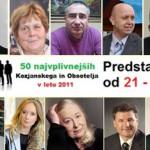 Predstavitve najvplivnejših KiO 2011: Od 21. do 30. mesta