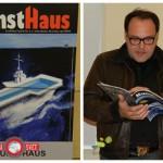 Ljudski ustvarjalec Nani Poljanec predstavil 6. številko fanzina KunstHaus (video)