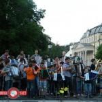 S koncertom harmonikarskih orkestrov so Slatinčani obeležili urbanovo (video)