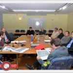 Z direktorjem Direkcije za ceste o križišču v Mesitnju, nadvozu Grobelno in drugi cestni problematiki