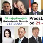 50 najvplivnejših KiO 2012: od 21. do 30. mesta