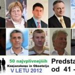 50 najvplivnejših KiO 2012: predstavitve od 41. do 50. mesta
