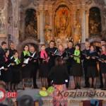 Sv. Rok nad Šmarjem: koncert zbora Collegium vocale Celje (foto, video)