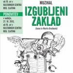 Muzikal Izgubljeni zaklad v KC Rogaška Slatina – podarjamo vstopnice