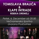 Miklavžev koncert Klape Intrade & Tomislava Bralića v Podčetrtku