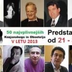 Predstavitve najvplivnejših KiO 2013: od 21. do 30. mesta