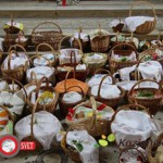 Blagoslovi velikonočnih jedi v župnijah Šentjur in Šmarje (foto)