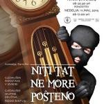 """Vabimo: gledališka komedija v Šmarju """"Niti tat ne more pošteno krasti"""" – podarjamo vstopnice"""