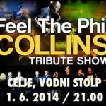Vabimo na Feel the Phil Collins Tribute show pri Vodnem stolpu Celje (Špital Za Prjatle) – podarjamo vstopnice