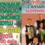 Vabimo na tekmovanje v kuhanju enolončnice in zabavo s Slovenskimi zvoki na Sladko Goro – pijača/hrana pol ceneje!