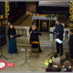 Koncert stare glasbe v Olimju – Antiphonus in Edin Karamazov (foto in video)