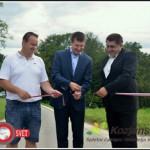 V občinah Rogaška Slatina in Podčetrtek odprli še skoraj 5 kilometrov prenovljene lokalne ceste (foto in video)