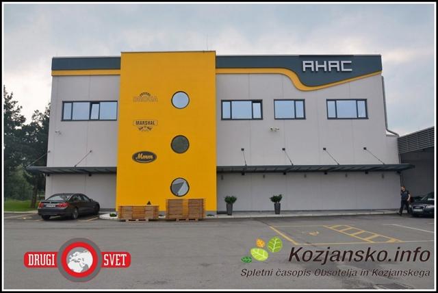 Nova upravna stavba podjetja Ahac