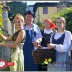 V Šmarju trgatev potomke stare trte, v Bistrici občinske (foto in video)