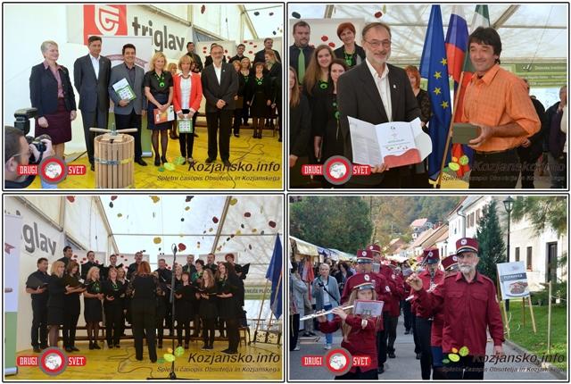Prejemniki pravice do rabe kolektivne blagovne znamke Sožitje-Kozjanski park, Carjevič leta 2014, zbor Vinea in godba Orlica
