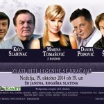 Vabimo: Koncert Zlati hiti – legende se vračajo v Rog. Slatini – podarjamo vstopnice