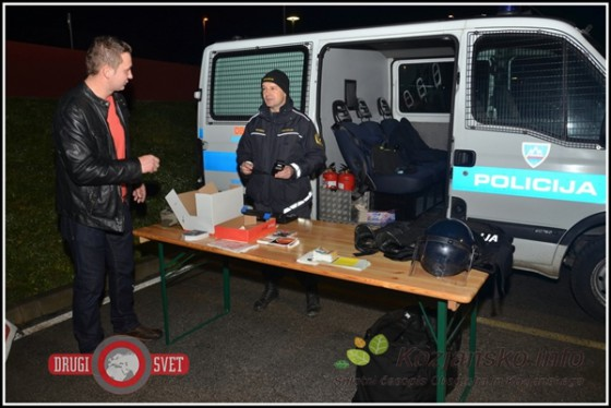 Policisti so tokrat pozitivno presenetili s preventivno akcijo, kar so pozdravljali številni gostje.