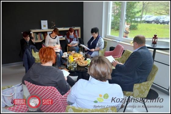 Na novinarski konferenci, ki je potekala v sproščenem vzdušju, so zaposleni v Kulturnem domu in Knjižnici Šmarje predstavili rezultate minulega leta.