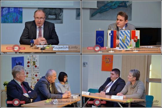 Na novinarski konferenci ob zaključki operacije so bili prisotni nekdanji župan občine Šmarke pri Jelšah ter župani in županja ostalih občin, vključenih v operacijo.
