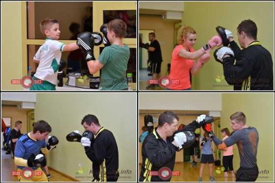 Zanimanje za boks v Šmarju je kar veliko. Na treningu smo videli najmlajše - osnovnošolce, dekleta, tihega favorita za zmago v 4. kolu Blaža Škrablina in gosta iz vrst Slovenske vojske.