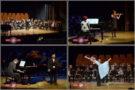 Bogat glasbeni program z mednarodno priznanimi glasbeniki.