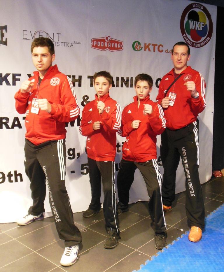 karateisti v samoboru