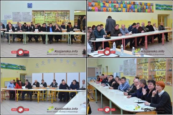 Srečanja se je udeležilo približno 60 gospodarstvenikov.
