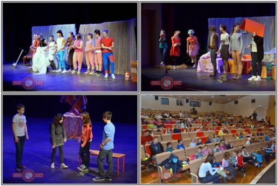 V drugem delu Gledališkega vrtiljaka pa so si otroci šmarskega vrtca ogledali predstave Crazy story, Zlatolaska in trije medvedi ter Raketa odločitev.