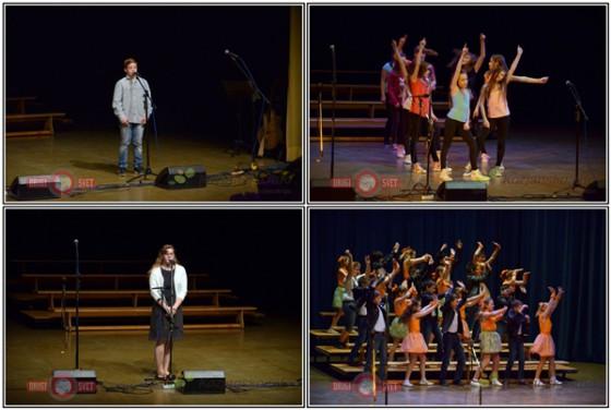Vsi nastopajoči učenci so z nastopi doprinesli k izvedbi tradicionalne prireditve za žene in mame.