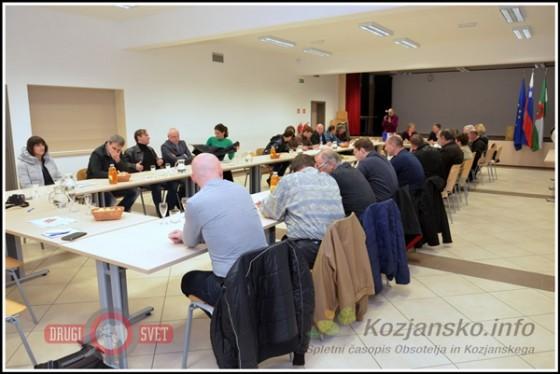 Srečanja se je udeležilo 24 podjetnikov občine Kozje.
