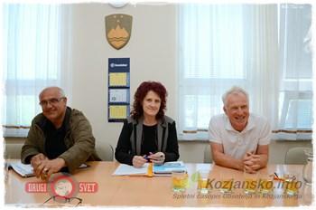 Ali Nassib, Irena Nunčič in Slivnik so predstavili investicije in pojasnili