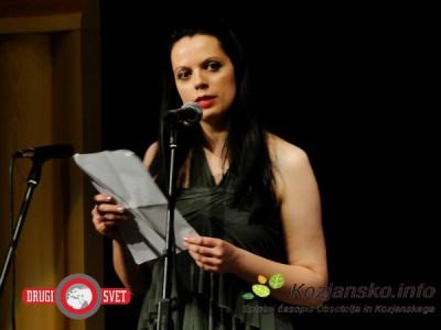Tanja Petrič, letošnja dobitnica Stritarjeve nagrade