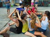 mokre igre mestni trg sentjur julij 2015