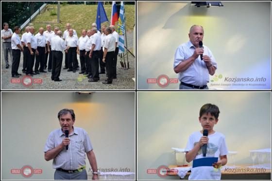 Ob odprtju so zapeli Obrtniški moški pevski zbor Šmarje, zbrane pa sta nagovorila tudi šmarski župan Stanko Šket in vodja oddelka za okolje in prostor Peter Planinšek.