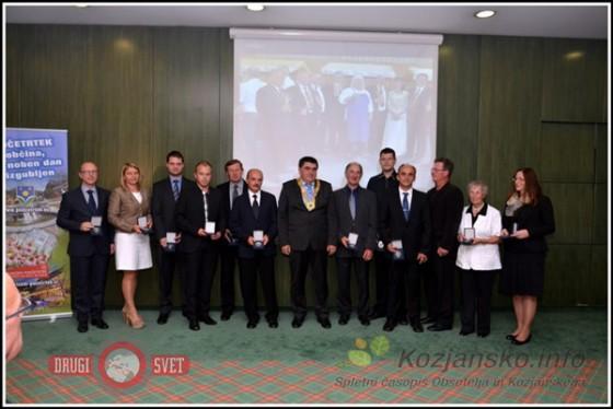 Župan Peter Misja s svetniki, izvoljenimi jeseni 2014.
