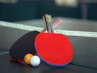 namizni tenis loparja in zogici
