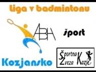 liga v badmintonu abh kozjansko