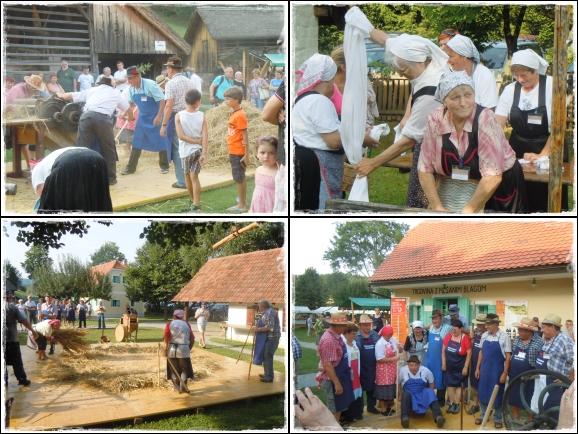 Člani Zveze DU Kozjansko so tudi letos pomagali soustvarjati že 18. Likof na taberhi.