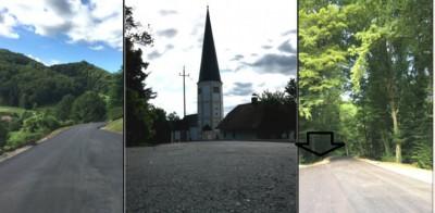 V Podčetrtku prenovili 2 km cest; s prenovo nadaljujejo.