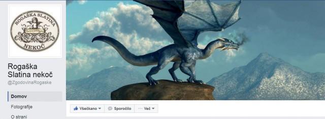 Facebook stran Rogaška Slatina nekoč s 3000 všečki.