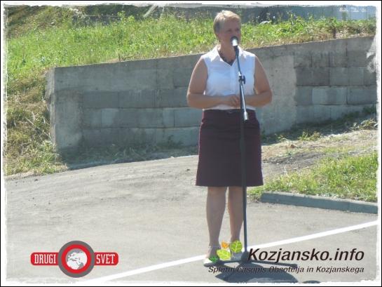 Pozdravni nagovor županje Kozjega.